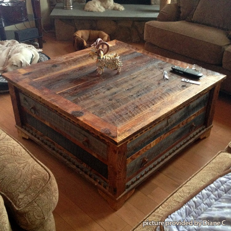 Do you want a square wood coffee table   with storage with extra storage space?