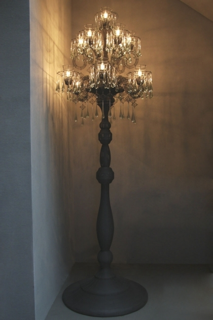 Standing Chandelier Floor Lamp Shades Pics 64 Cool Lamps In Designs