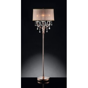 Standing Chandelier Floor Lamp | Wayfair