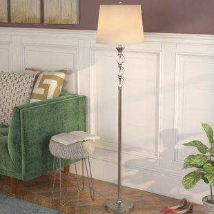 Standing Chandelier Floor Lamp | Wayfair