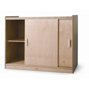 Storage Cabinet With Sliding Doors - Image 1 of 1