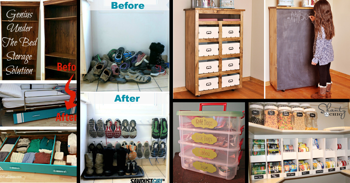 50+ Simple And Practical Storage Solutions For Your Home! – Cute DIY  Projects
