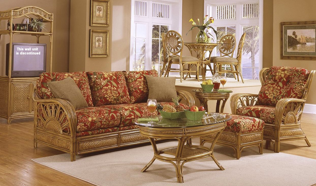 Lakeside Rattan & Wicker Living Room Furniture