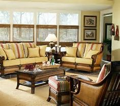 Living Room Cane Furniture, Living Room Chairs, Rattan Furniture, Sunroom  Furniture, Living