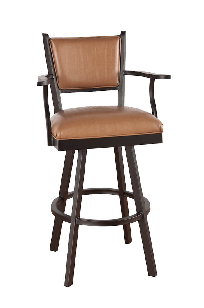 Callee Carolina Swivel Bar Stool with Arms
