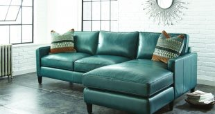 Teal Leather Sectional Sofa - White is the most elegant of all colors. This  color creates a delightful setting. These sectional sofas constantly look  very