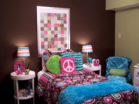Amazing Teenage Girl Bedroom Ideas For Small Rooms - YouTube