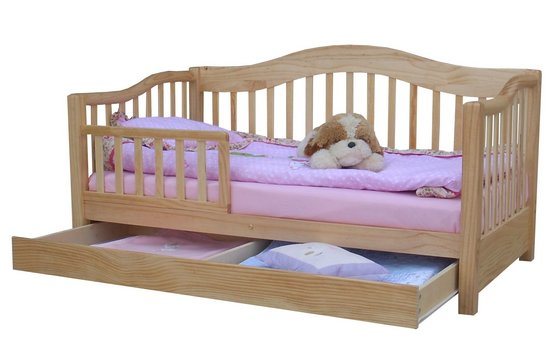 Wooden Toddler Bed/Crib/Cot/Baby Bed image
