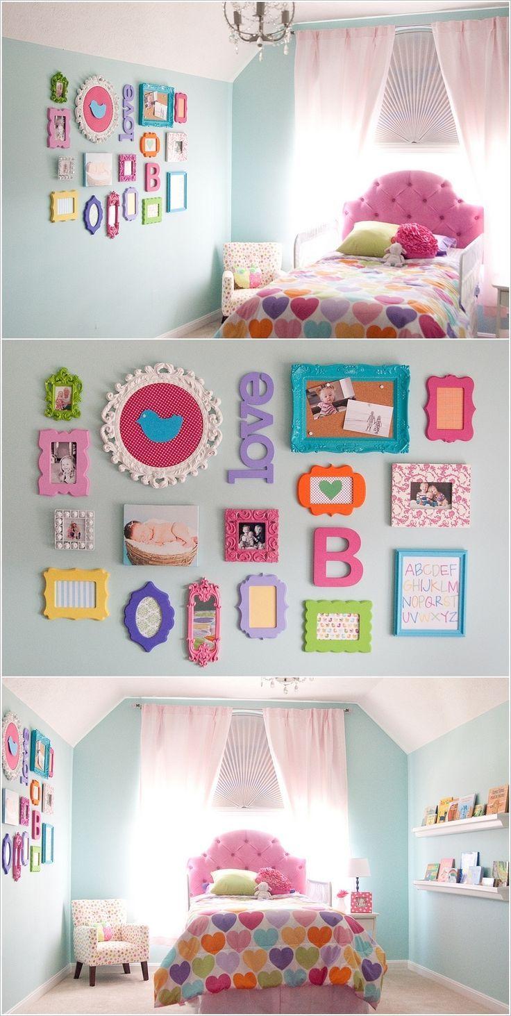 Girls Bedroom Decorating, Kids Bedroom Paint, Girls Room Paint, Box Room  Bedroom Ideas