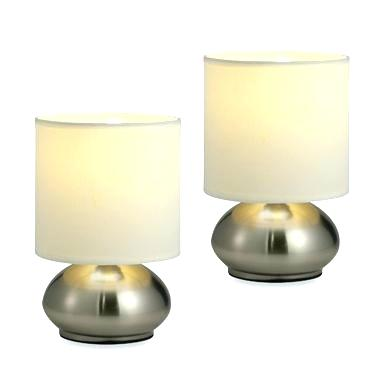 Different types of modern touch bedside   table lamps