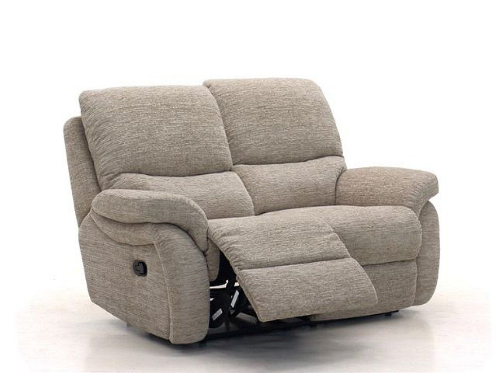 Small design but big style, a modern two   seater recliner sofa