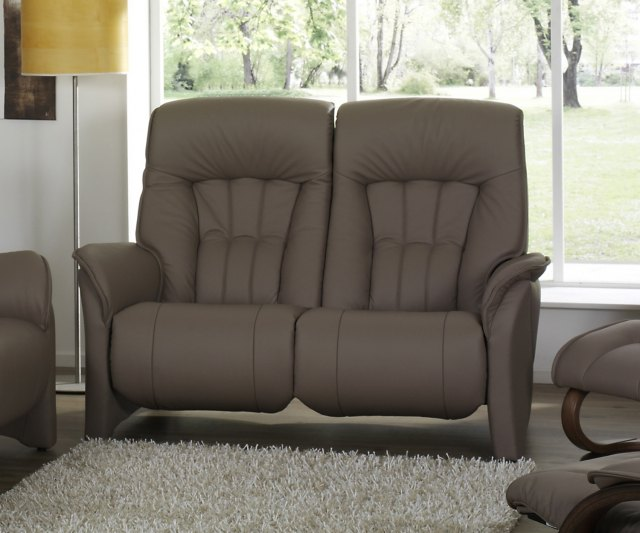 Himolla Rhine 2 Seater Manual Recliner - Earth leather
