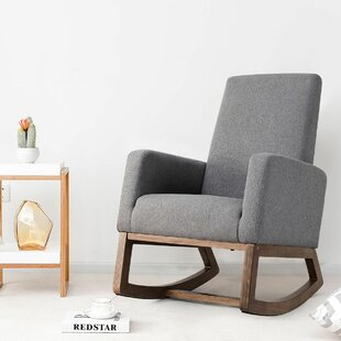 Upholstered Rocking Chairs You'll Love | Wayfair