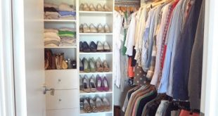 20 Incredible Small Walk-in Closet Ideas & Makeovers | House