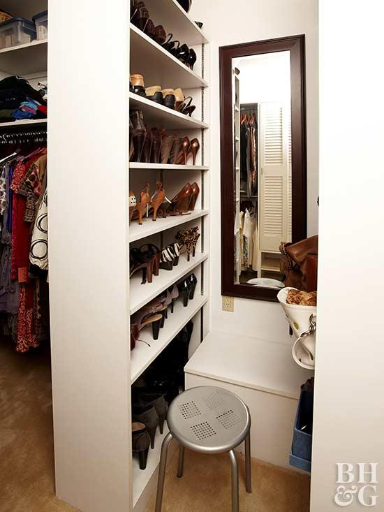 Small Walk In Closet Design Ideas | Better Homes & Gardens