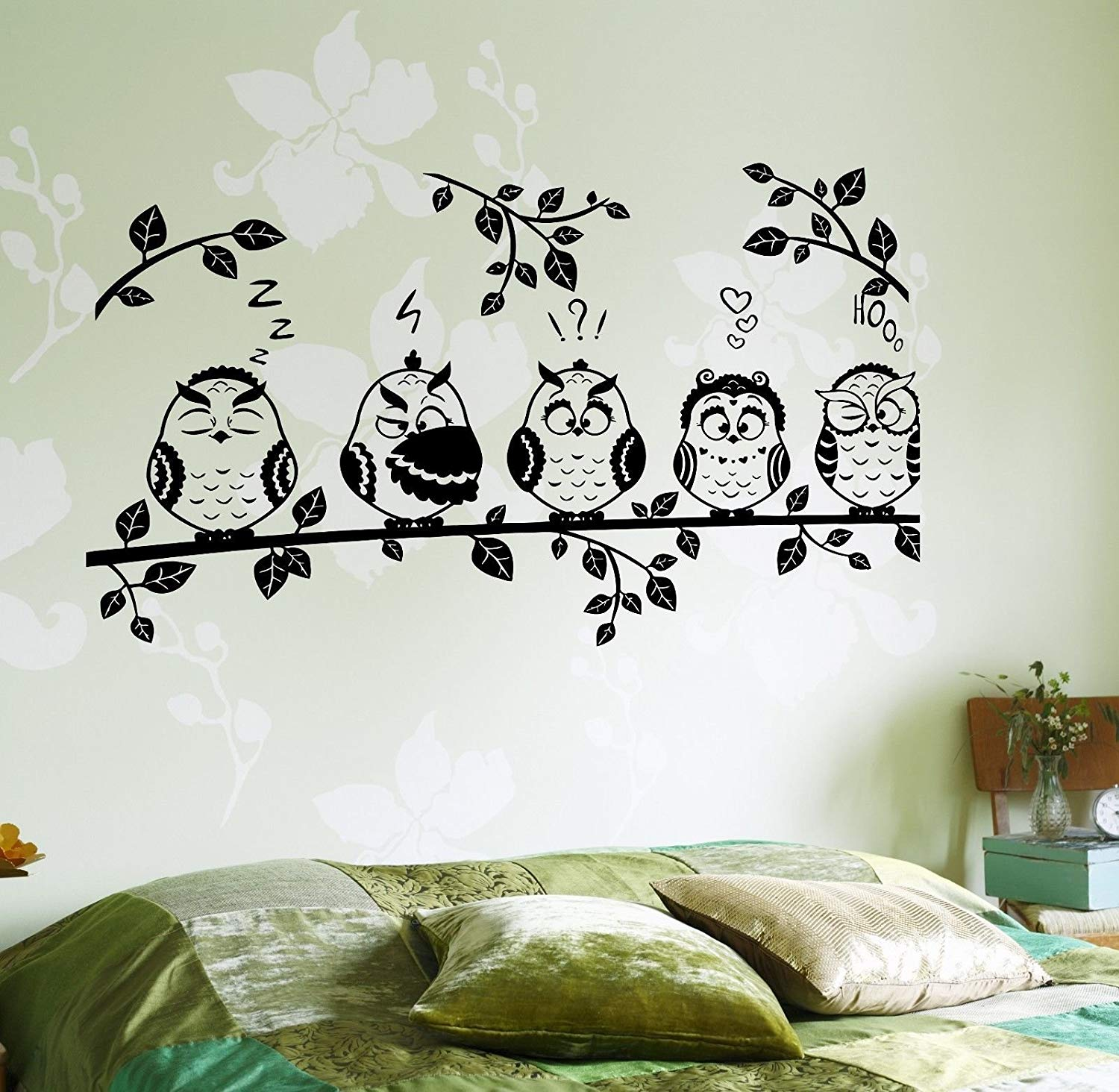 Best Peel & Stick Nursery Animal LARGE Wall Decals. Easy WAY to Remove.  Removable Art Sticker Decal for Kids Baby Rooms.