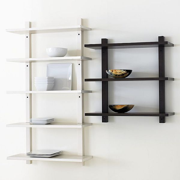 Simple Wall-Mounted Bookcase