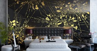 Bedroom-Decorating-Ideas-Flowers-Wall-Mural