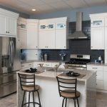 White shaker kitchen cabinets for fresh   kitchen