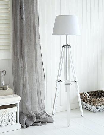 white floor lamps lamp floor white tripod white wooden floor lamp base .