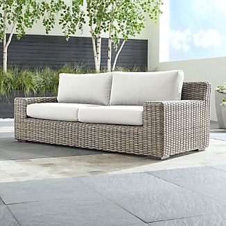 Rattan Outdoor Furniture | Crate and Barrel