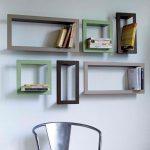 Some ideas for wood shelves design