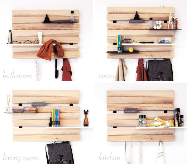 REMLshelf: Artistic Wood Shelving | Home Furnishings | Pinterest