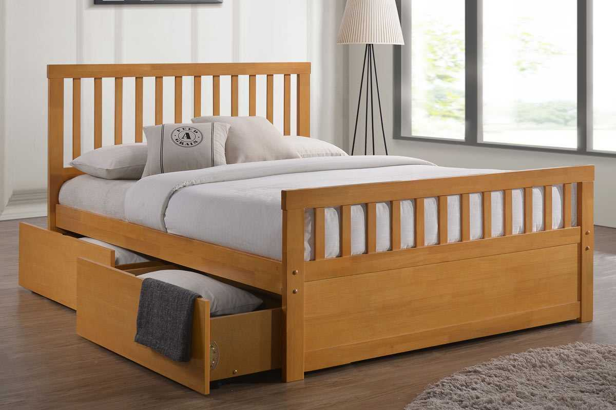 impressive woode bed frame with storage drawers luxury white double bed  frame
