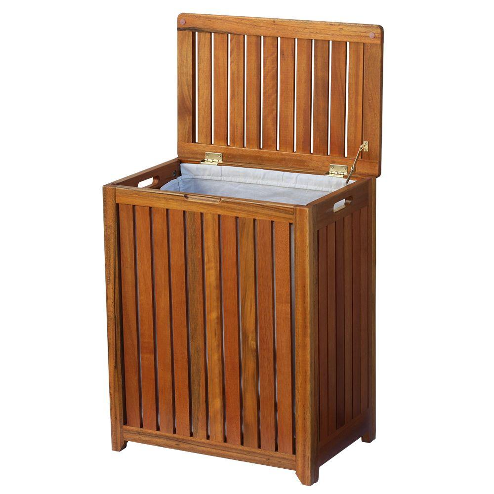 A guide to buying the right wooden   laundry hamper with lid ideas