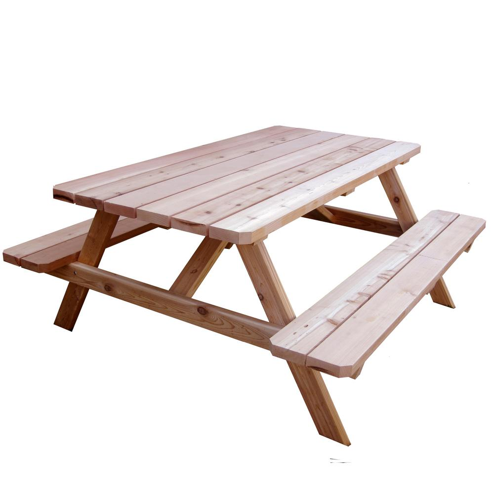 Outdoor Living Today 64-3/4 in. x 66 in. Patio Picnic