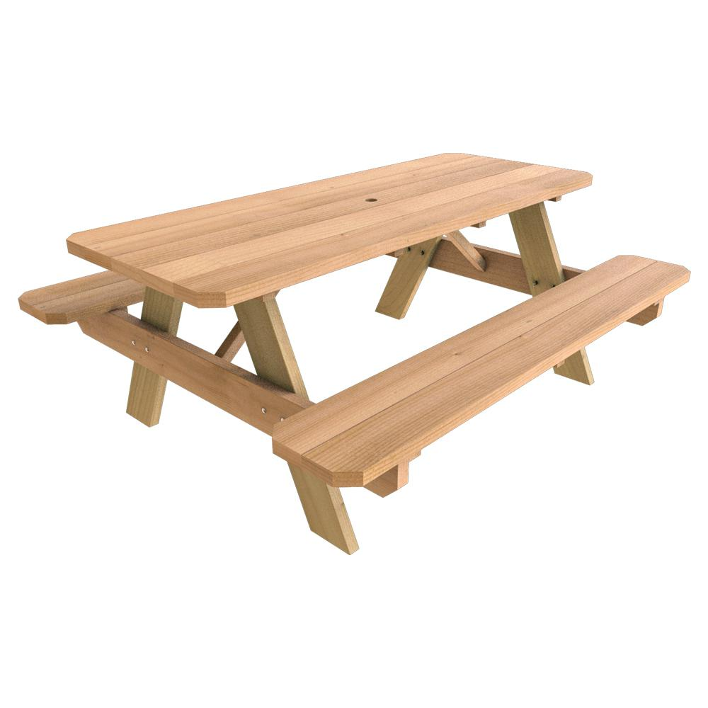 Wooden Picnic Tables To Enjoy Your Day