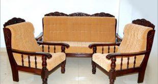 Luxury Wooden Sofa Set at Rs 12000 /piece(s) | Lakdi Ka Sofa Set