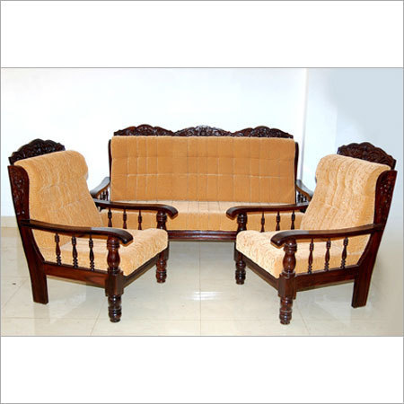Luxury Wooden Sofa Set at Rs 12000 /piece(s) | Lakdi Ka Sofa Set