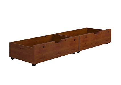 Amazon.com: Under-Bed Storage Drawers--Espresso: Home & Kitchen