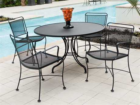 A guide to buying the right wrought iron   patio furniture sets