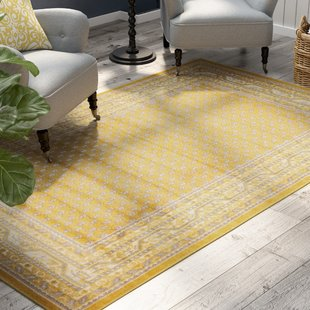 Gold & Yellow Rugs You'll Love | Wayfair